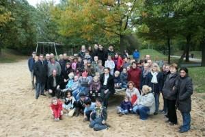 Spielplatzeröffnung (Foto: Stadt Krefeld)