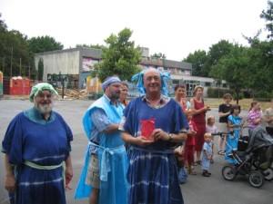 Die Senioren - aktive Helfer (Foto: ASP Monheim)
