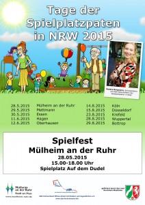 Tage der Spielplatzpaten Mülheim