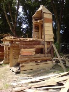 Bau der Mirche (Kirche und Moschee = Mirche) (Foto: ASP Monheim)