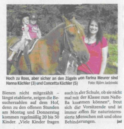 Westdeutsche Allgemeine Zeitung vom 16. September 2011